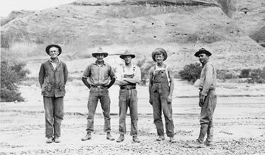 Trimple Survey on the San Juan River in 1921